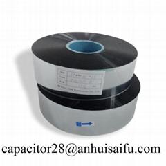 Aluminum-Zinc metalized polyester film capacitor grade
