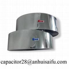 Aluminum-Zinc metalized polyester film with heavy edge for capacitor