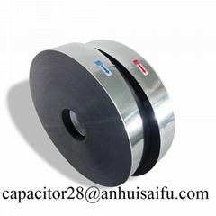 7um 37.5mm Capacitor grade metallized Polypropylene film