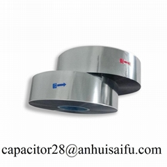 China high purity 3 micron Al metallized pp roll film