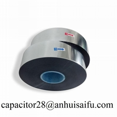 China made super quality metallized MPET film 13um for capacitor use