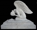 Detailed Carving Headstone Life Size
