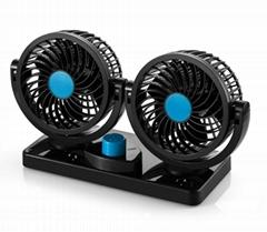 """Safebuy Car cooling fan universal electric 9"""" 24v 12v condenser car fan"""