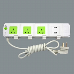 Surge Protection Australia Power Outlet With USB Charger