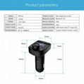 FM Transmitter Radio Adapter Car Kit With USB Car Charger