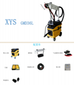 dust collection dry grinding system