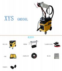 氣動電動一體干磨系統