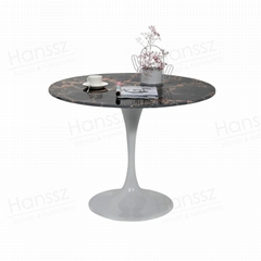 Dining table engineered Stone artificial marble table top