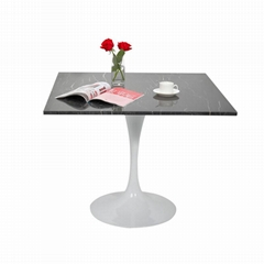 Restaurant dining table top marble
