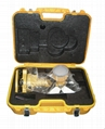 Topcon Type prism set with tribrach and adapter with the plastic case