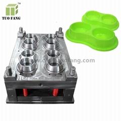 plastic mould for dog bowl pet plastic feeder mould