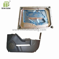 plastic vehicle car door mould/plastic auto car door parts mold maker