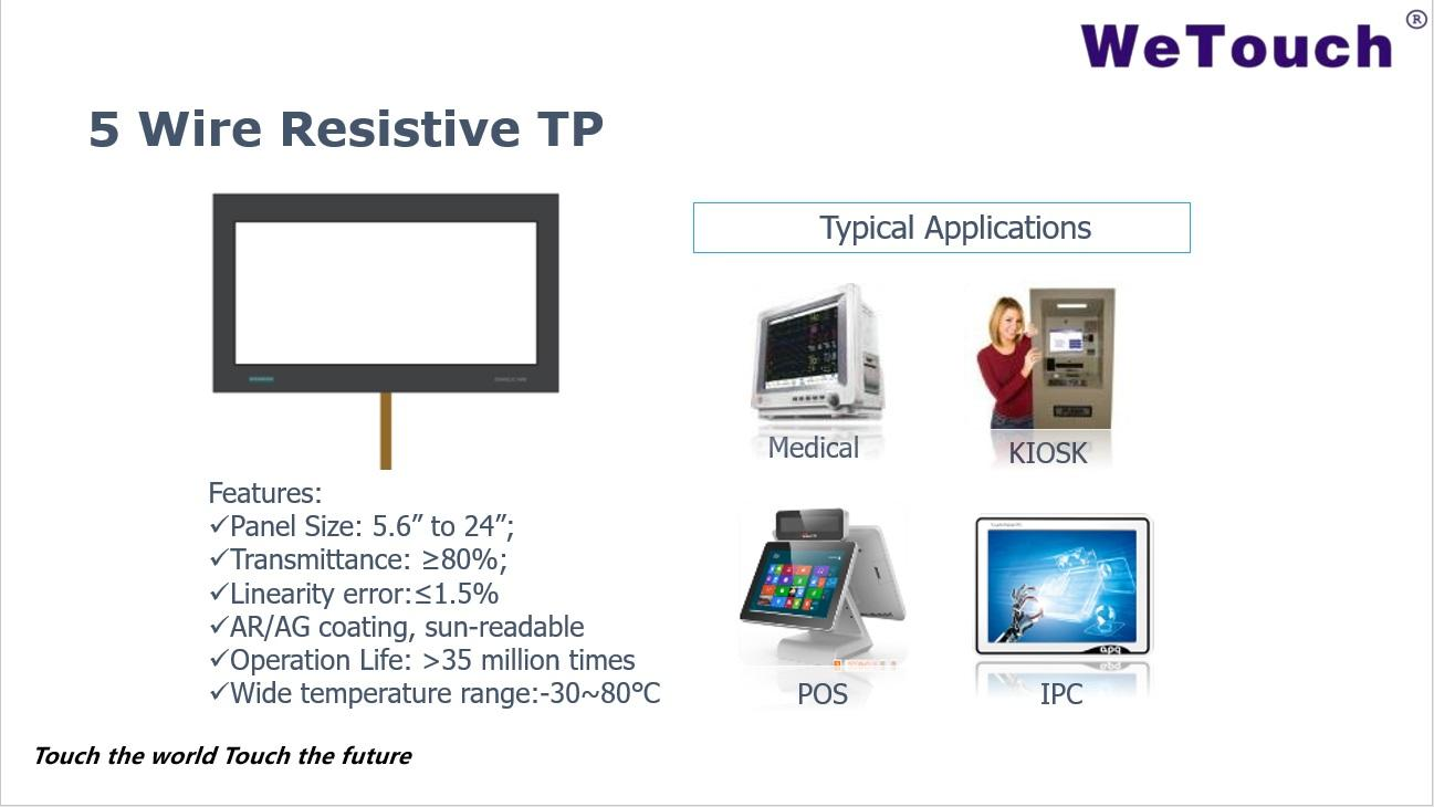 5 Wire Resistive Touch Screen 1