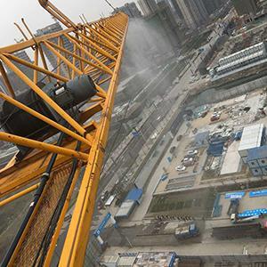 塔吊專用噴淋萬向節旋轉接頭塔吊防塵噴霧降塵永不繞線 1