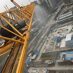 塔吊專用噴淋萬向節旋轉接頭塔吊防塵噴霧降塵永不繞線