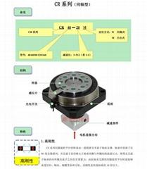 伺服法蘭行星齒輪專用減速機CR120-3W