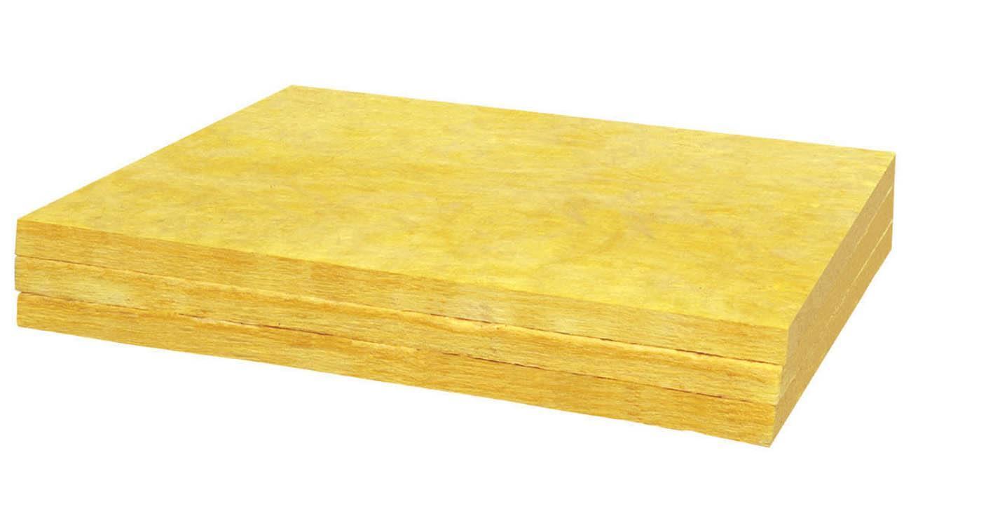 幕墙隔热吸音板 离心玻璃棉板材 2