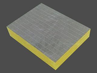 幕墙隔热吸音板 离心玻璃棉板材 4