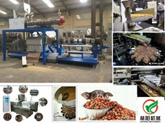 LY95-P大型湿法狗粮生产线狗粮设备