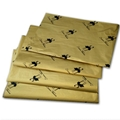 17g Gold printed wrapping tissue paper 2