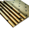 17g Gold printed wrapping tissue paper
