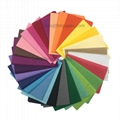 Double smooth 28 colors 17 gsm MF Color/Coloured wrapping tissue paper