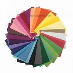 双面光滑30个颜色17克彩色拷贝纸双拷