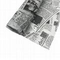 17g旧报纸图案礼品包装印刷拷贝纸 2