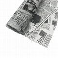 17g MF Gift Wrapping Tissue Paper With Old Newspaper Design 2