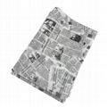 17g旧报纸图案礼品包装印刷拷贝纸 4