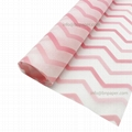 17g Customized printed single color Wavy Pattern Gift Wrapping Tissue Paper for  7