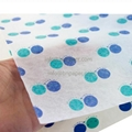 二色圓點定製印刷鞋子包裝紙 5