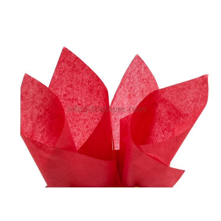 17克红色单双包装拷贝薄纸 2