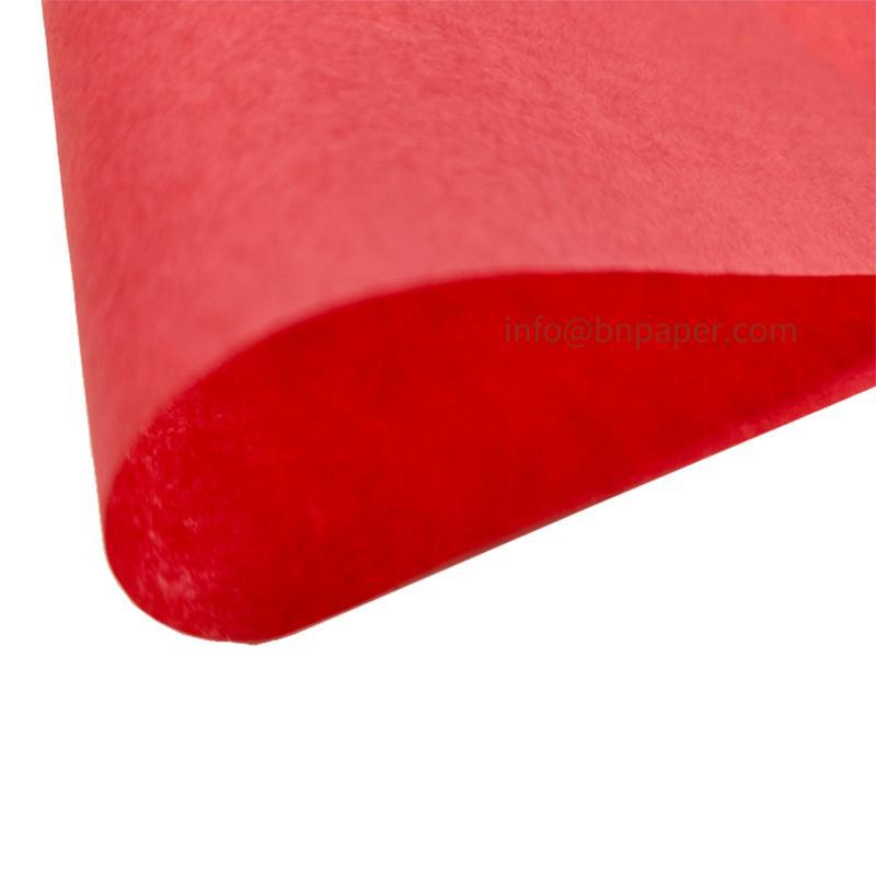 17克红色单双包装拷贝薄纸 4