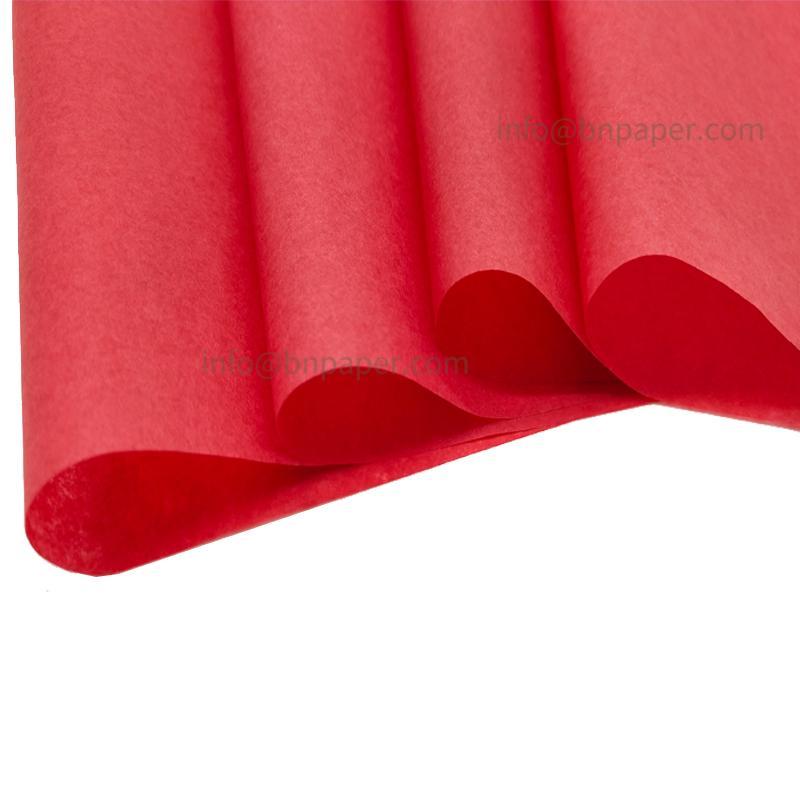 17克红色单双包装拷贝薄纸 5