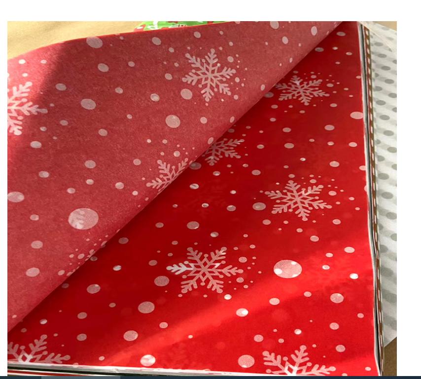 圣诞雪梨纸 印刷拷贝纸 2