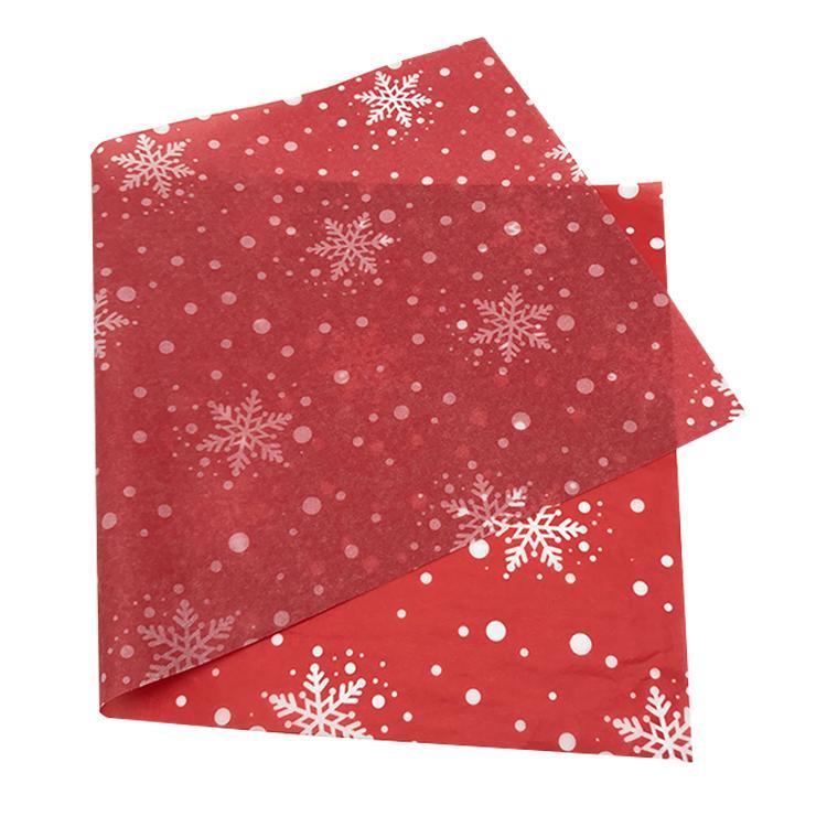定制印刷圣诞雪梨纸17克拷贝纸定型防潮装饰 1