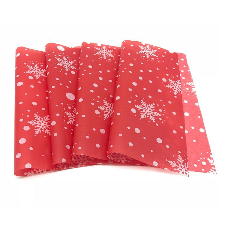 定制印刷圣诞雪梨纸17克拷贝纸定型防潮装饰 3