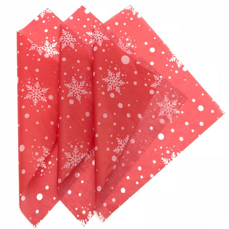 定制印刷圣诞雪梨纸17克拷贝纸定型防潮装饰 5