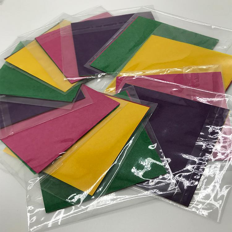 供應外貿亞馬遜手工折紙裝袋分切拷貝紙