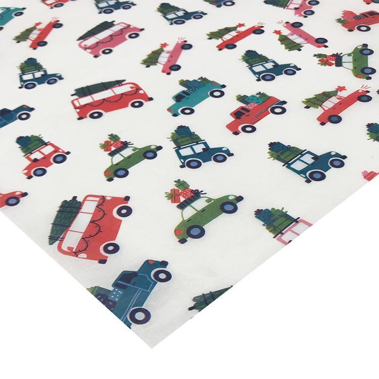 多色印刷17克拷贝纸圣诞雪梨纸silkpaper 3