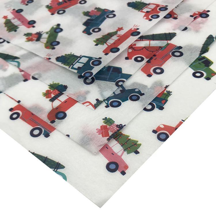 多色印刷17克拷贝纸圣诞雪梨纸silkpaper 9