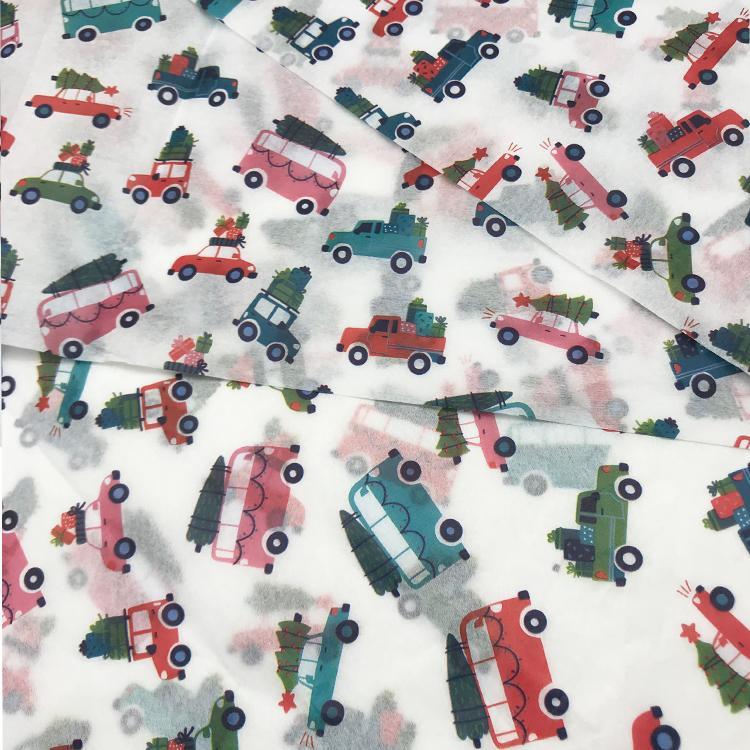 多色印刷17克拷贝纸圣诞雪梨纸silkpaper 10