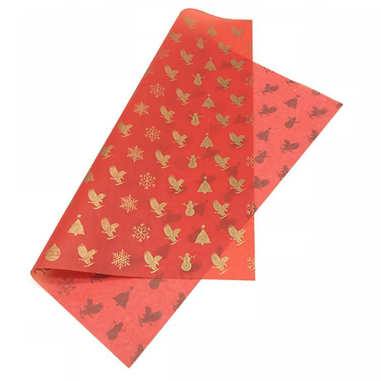 17-30克印刷红底+金色Logo拷贝纸 4