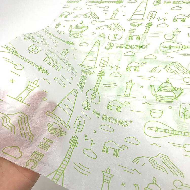 17克印刷单色Logo拷贝纸防潮包装纸 1