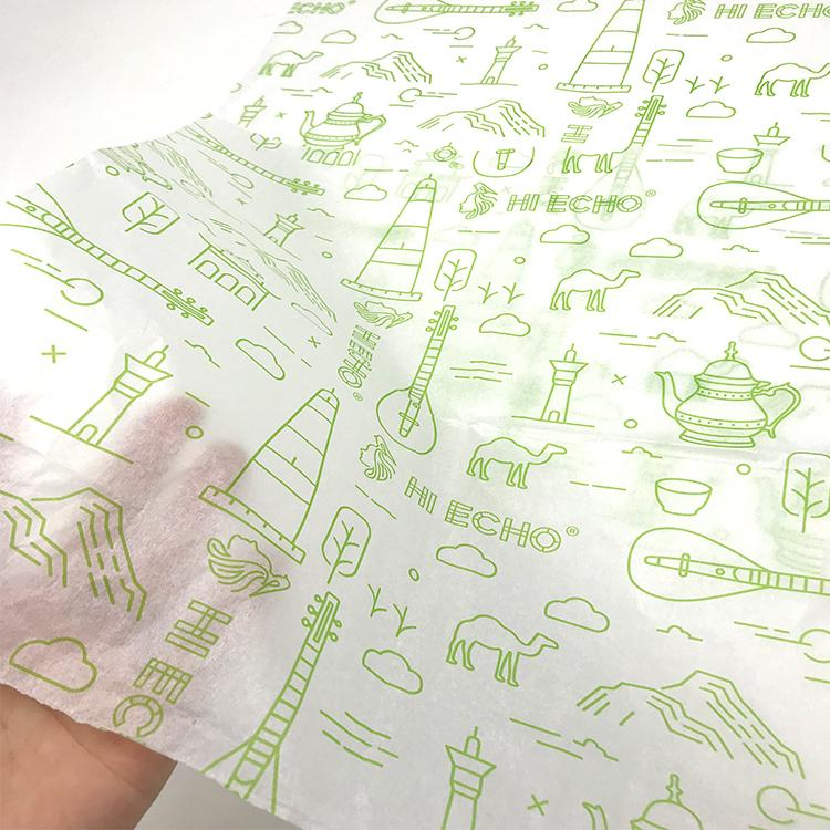 17克印刷單色Logo拷貝紙防潮包裝紙 1