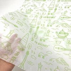 17克印刷单色Logo拷贝纸防潮包装纸