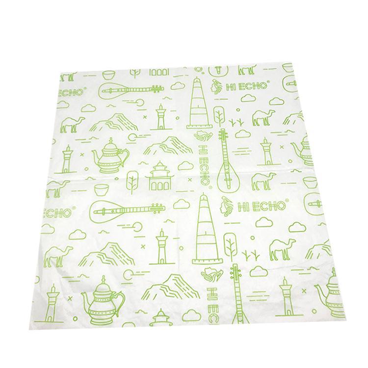 17克印刷单色Logo拷贝纸防潮包装纸 2