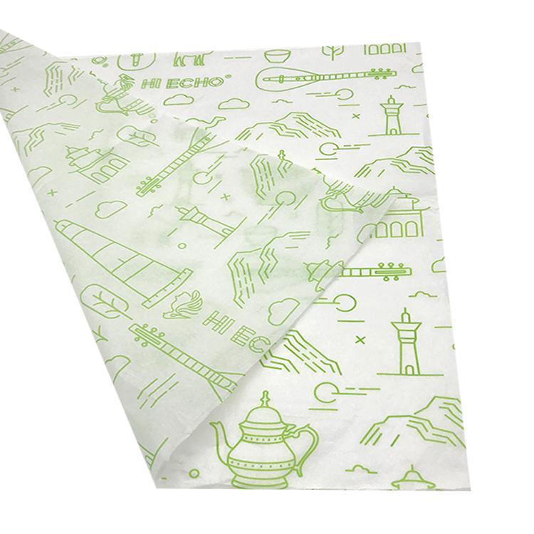 17克印刷单色Logo拷贝纸防潮包装纸 3