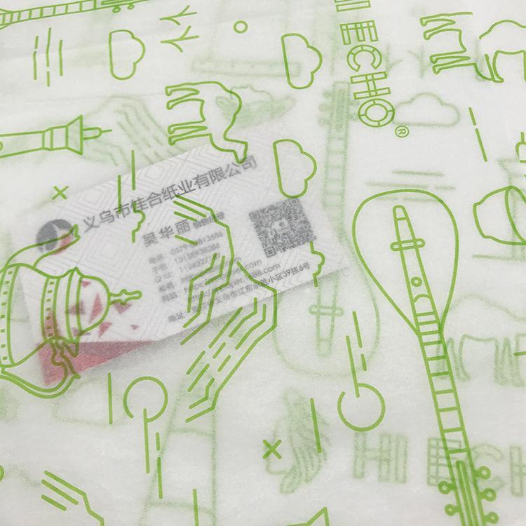 17克印刷單色Logo拷貝紙防潮包裝紙 5